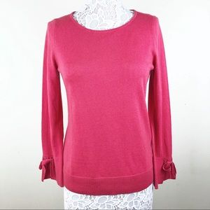 Talbots Sweater with Bow Detail at Wrist Size SML